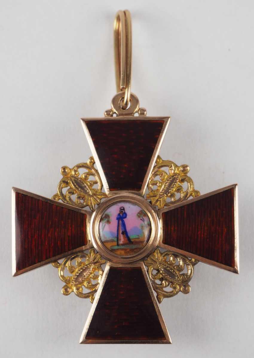 RusslanDurchmesser: Orden der hl. Anna, 2. Modell (1810-1917), 2. Klasse, im Etui. - photo 6