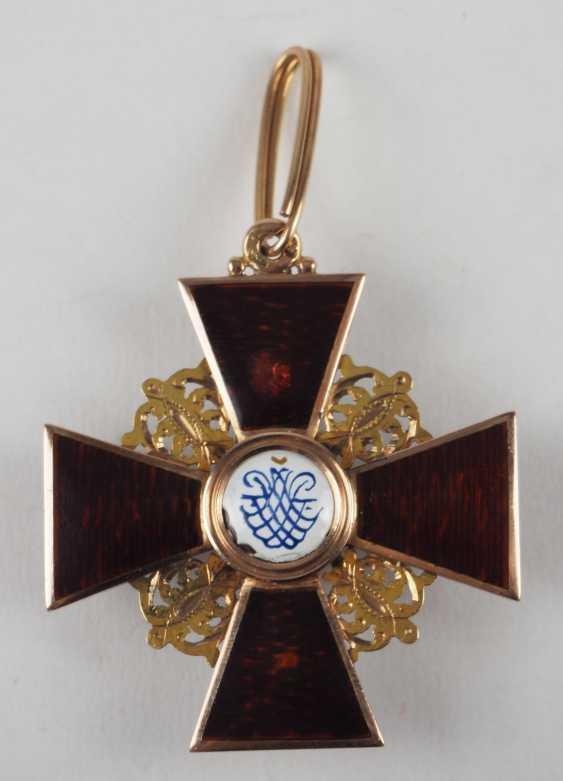 RusslanDurchmesser: Orden der hl. Anna, 2. Modell (1810-1917), 2. Klasse, im Etui. - photo 7