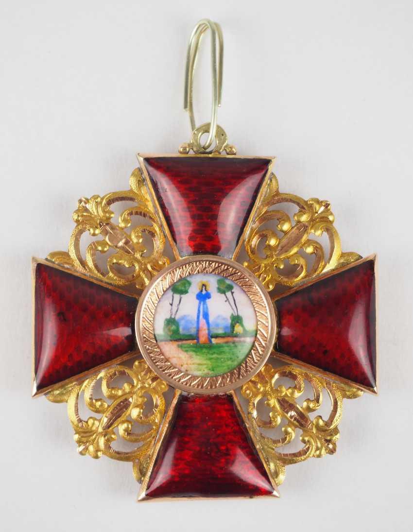 RusslanDurchmesser: Orden der hl. Anna, 2. Modell (1810-1917), 2. Klasse. - photo 1
