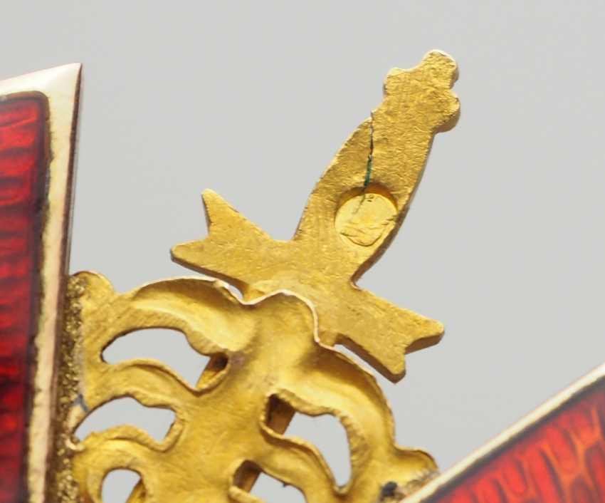 RusslanDurchmesser: Orden der hl. Anna, 2. Modell (1810-1917), 2. Klasse mit Schwertern, im Etui. - photo 8
