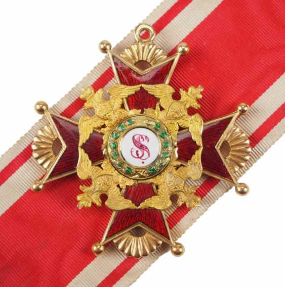 RusslanDurchmesser: Kaiserlicher und Königlicher Orden vom heiligen Stanislaus, 2. Modell, 1. Typ (1831-1841), 2. Klasse. - photo 1