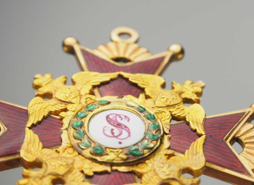 RusslanDurchmesser: Kaiserlicher und Königlicher Orden vom heiligen Stanislaus, 2. Modell, 1. Typ (1831-1841), 2. Klasse. - photo 7