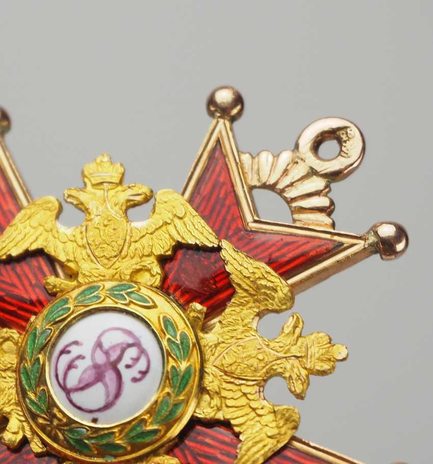 RusslanDurchmesser: Kaiserlicher und Königlicher Orden vom heiligen Stanislaus, 2. Modell, 1. Typ (1831-1841), 3. Klasse. - photo 3