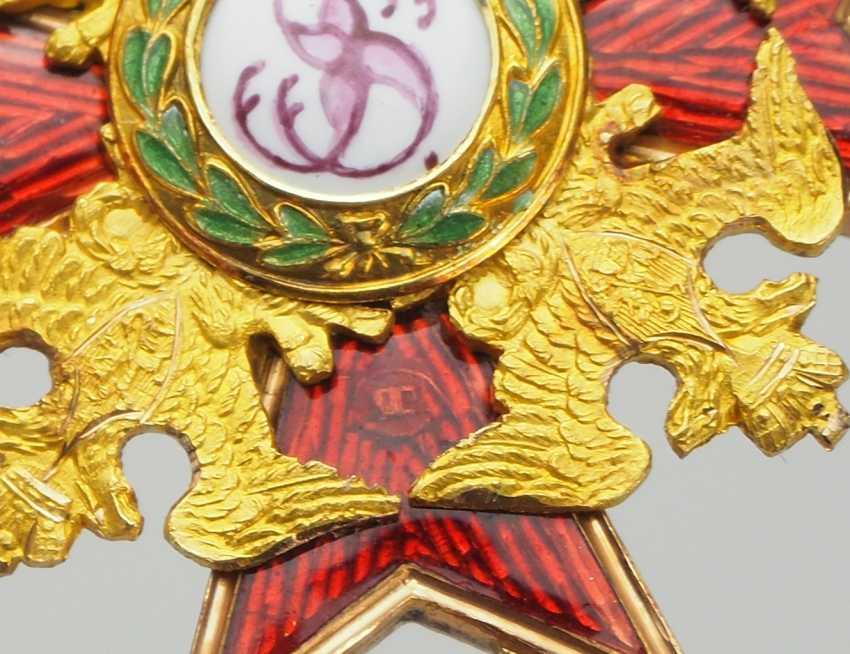 RusslanDurchmesser: Kaiserlicher und Königlicher Orden vom heiligen Stanislaus, 2. Modell, 1. Typ (1831-1841), 3. Klasse. - photo 4