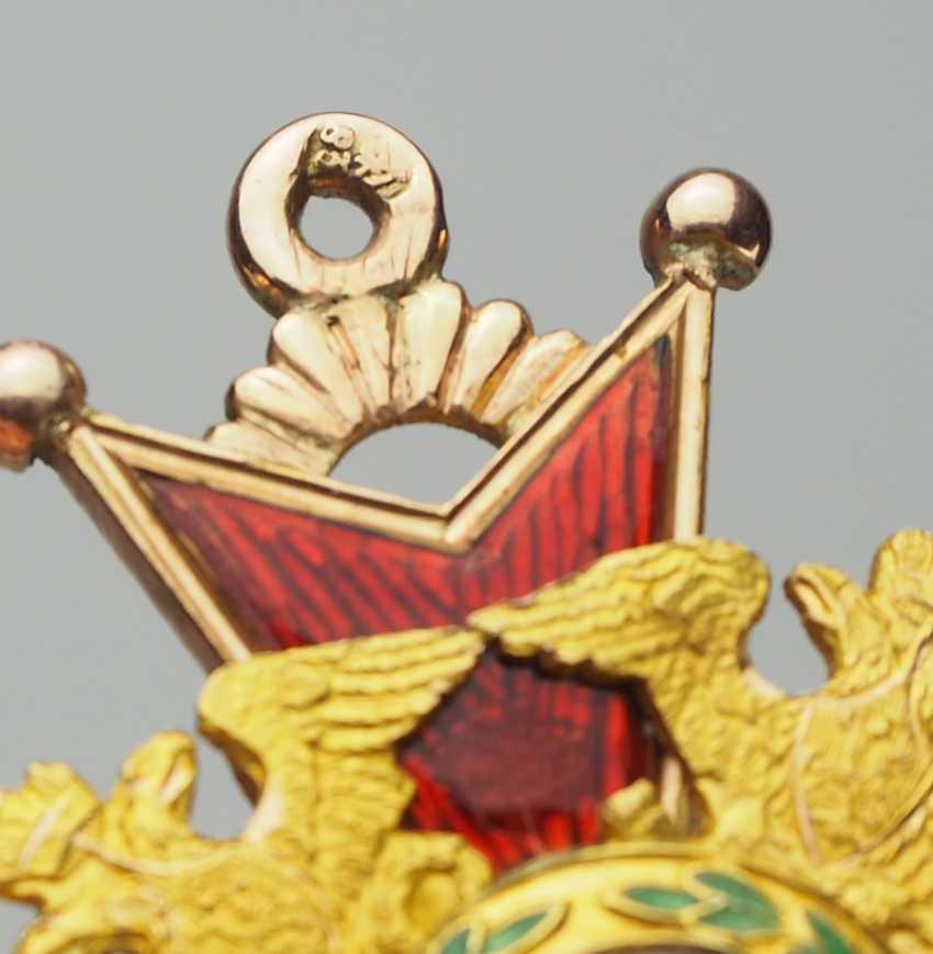RusslanDurchmesser: Kaiserlicher und Königlicher Orden vom heiligen Stanislaus, 2. Modell, 1. Typ (1831-1841), 3. Klasse. - photo 5