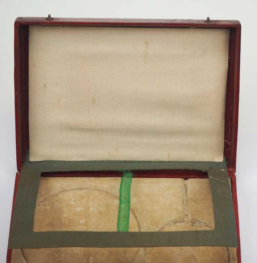 RusslanDurchmesser: Kaiserlicher und Königlicher Orden vom heiligen Stanislaus, 2. Modell, 2. Typ (ca. 1841-1917), 1. Klasse Satz, im Etui. - photo 9