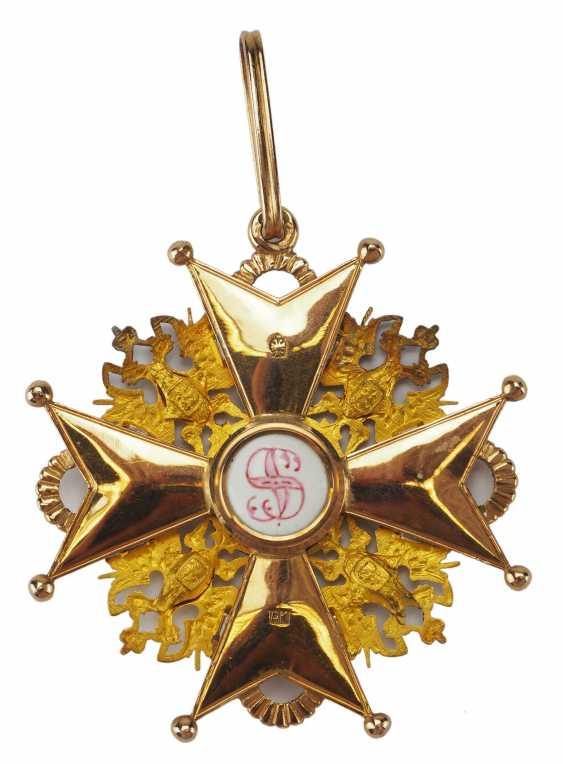 RusslanDurchmesser: Kaiserlicher und Königlicher Orden vom heiligen Stanislaus, 2. Modell, 2. Typ (ca. 1841-1917), 1. Klasse Satz, im Etui. - photo 12
