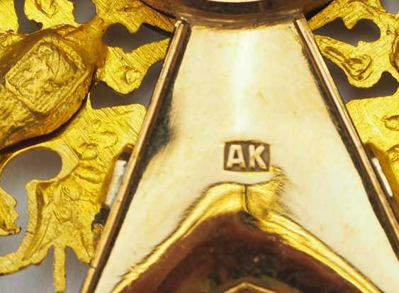 RusslanDurchmesser: Kaiserlicher und Königlicher Orden vom heiligen Stanislaus, 2. Modell, 2. Typ (ca. 1841-1917), 1. Klasse Satz, im Etui. - photo 13