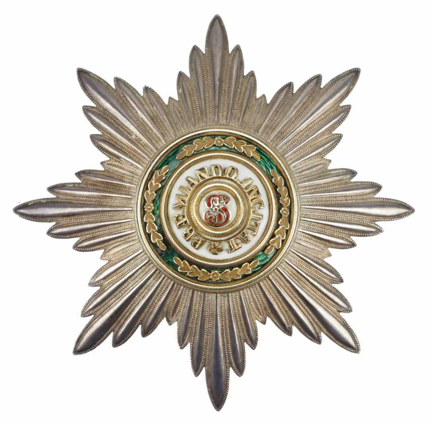 Russlan diameter: Imperial and Royal order of Saint Stanislaus, 2. Model, 2. Type (approx. 1841-1917), 1. Class Star. - photo 1