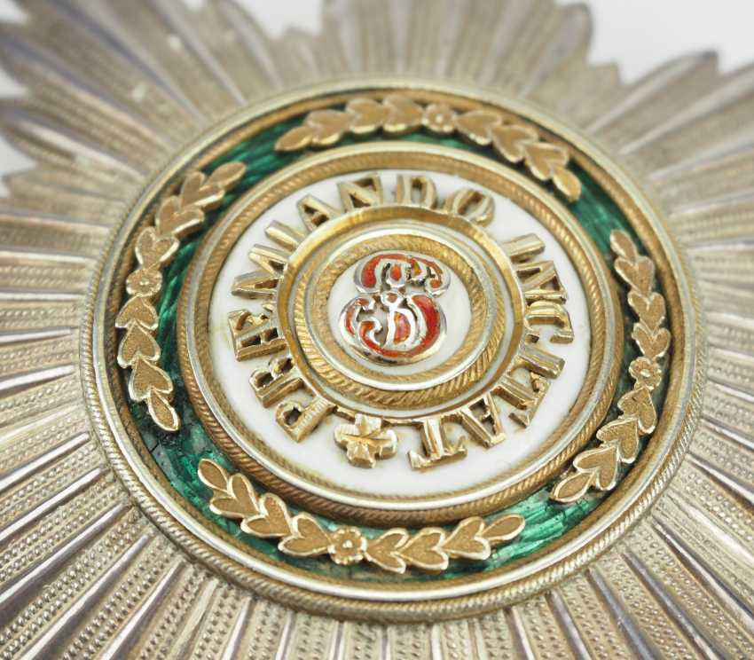 Russlan diameter: Imperial and Royal order of Saint Stanislaus, 2. Model, 2. Type (approx. 1841-1917), 1. Class Star. - photo 2
