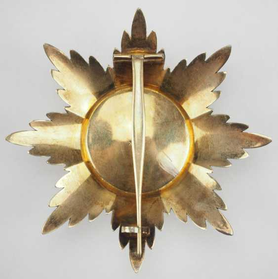 Russlan diameter: Imperial and Royal order of Saint Stanislaus, 2. Model, 2. Type (approx. 1841-1917), 1. Class Star. - photo 3