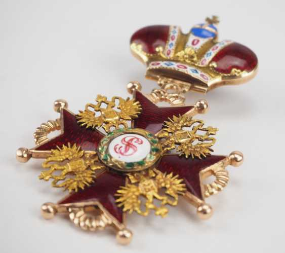 Russlan diameter: Imperial and Royal order of Saint Stanislaus, 2. Model, 2. Type (approx. 1841-1917), 2. Class with crown. - photo 3