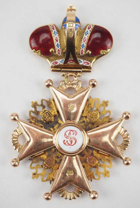 Russlan diameter: Imperial and Royal order of Saint Stanislaus, 2. Model, 2. Type (approx. 1841-1917), 2. Class with crown. - photo 4