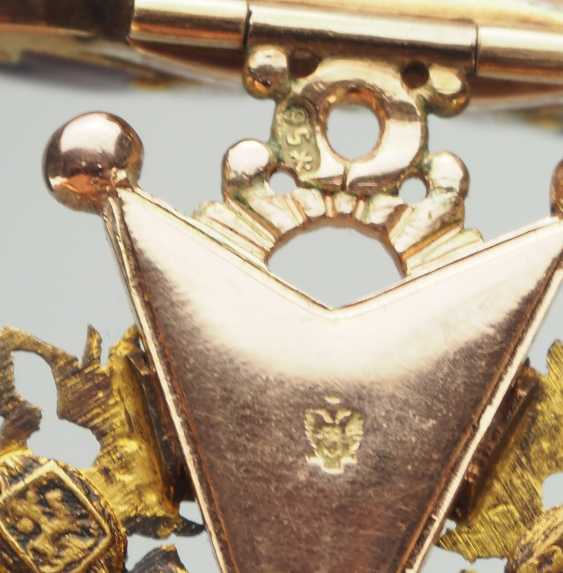 Russlan diameter: Imperial and Royal order of Saint Stanislaus, 2. Model, 2. Type (approx. 1841-1917), 2. Class with crown. - photo 7
