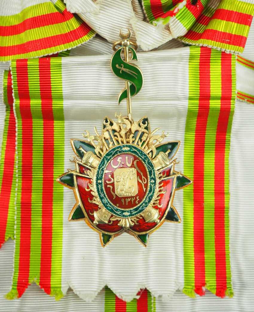 Tunisia: order of the basic set (Nishan Ahd al Aman), gem. - photo 1