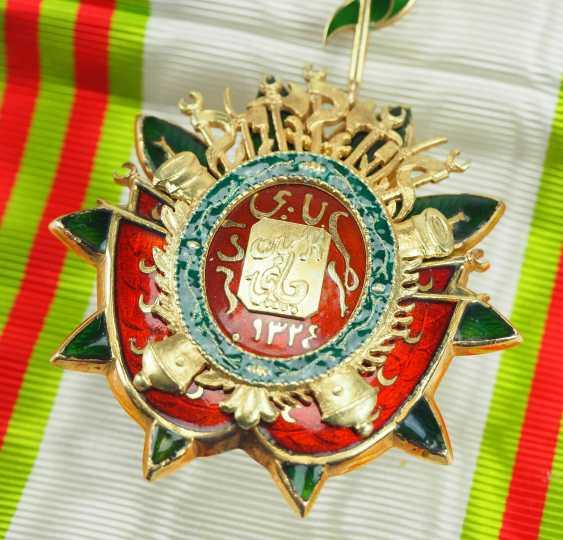 Tunisia: order of the basic set (Nishan Ahd al Aman), gem. - photo 3