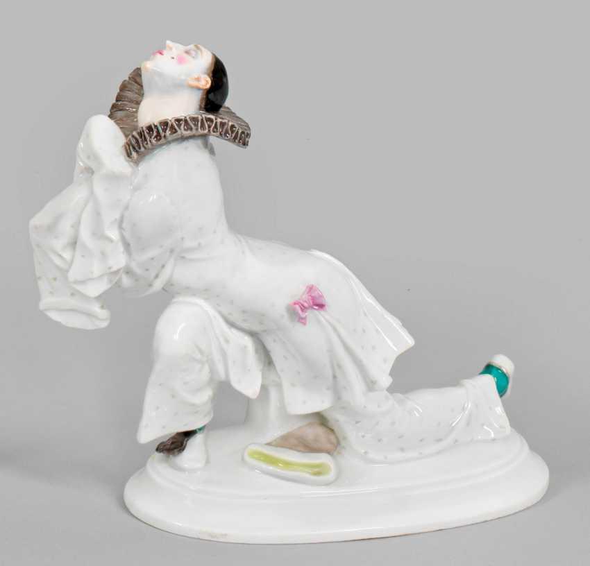 """""""Pierrot"""". Original title. Meissen. 1914-1923. - photo 1"""