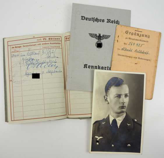 Deed estate of a Lieutenant and squad captain of the 14./ Battle squadron 40. - photo 11