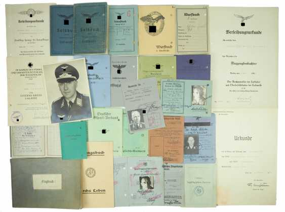 Documents estate of a Lieutenant of the 2. Season - Erg.-Battle group 3. - photo 1