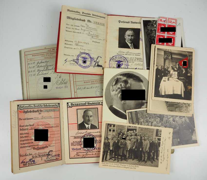 Estate of a Nazi party member from 1932. - photo 1