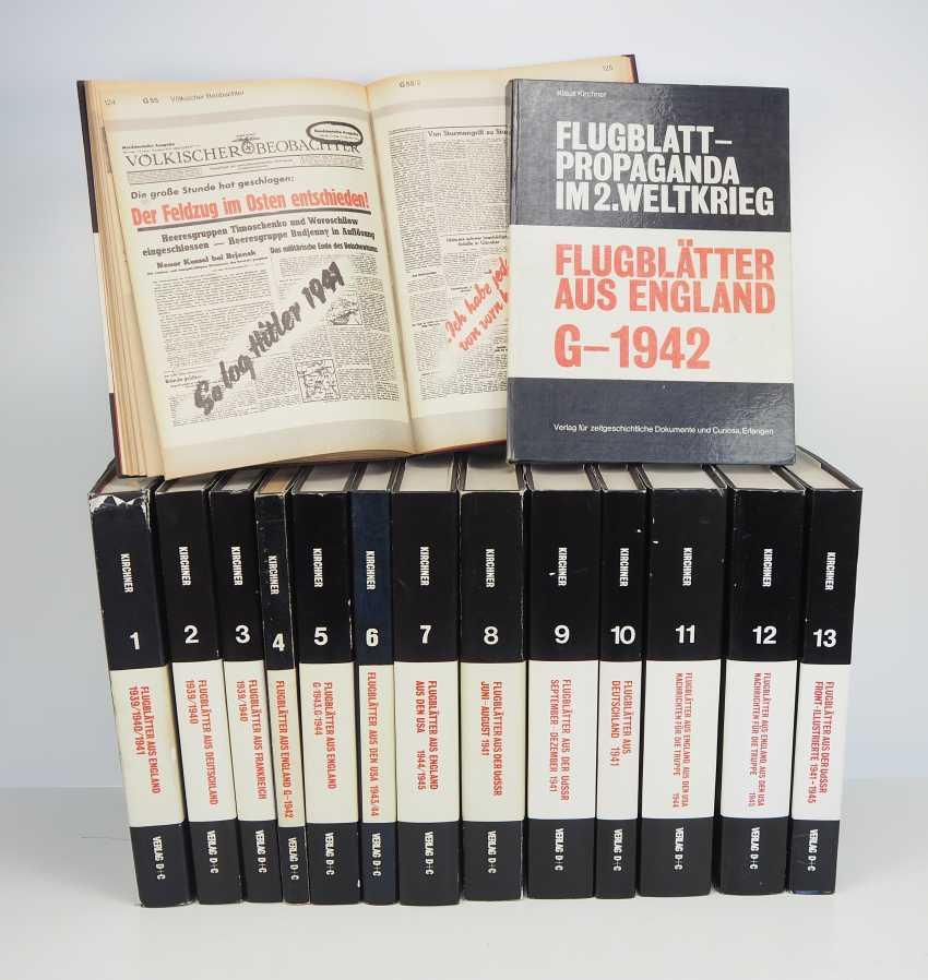 Kirchner, Klaus: flight leaves in 13 volumes plus. Documents volumes. - photo 1