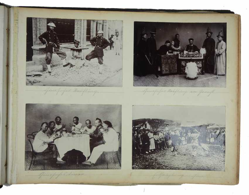 China: a photo album of Marine soldiers between 1895-1900. - photo 8