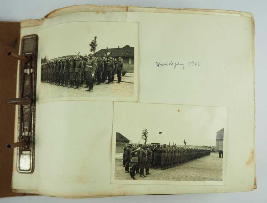 "Photo album of the 3. SS-Flak-Abteilung B ""upper salt mountain"". - photo 2"