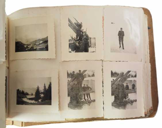 "Photo album of the 3. SS-Flak-Abteilung B ""upper salt mountain"". - photo 5"