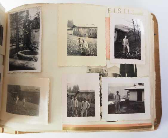"Photo album of the 3. SS-Flak-Abteilung B ""upper salt mountain"". - photo 7"