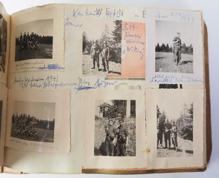 "Photo album of the 3. SS-Flak-Abteilung B ""upper salt mountain"". - photo 8"