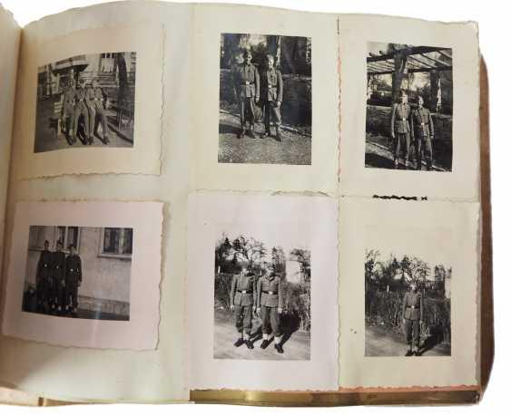 "Photo album of the 3. SS-Flak-Abteilung B ""upper salt mountain"". - photo 9"