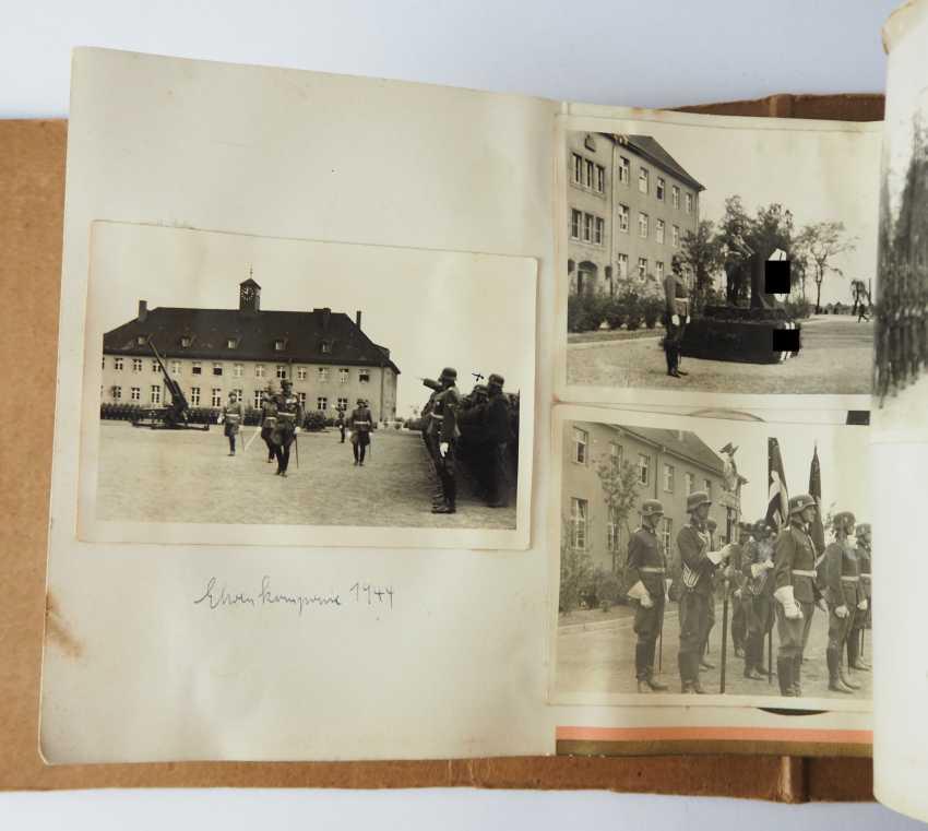 "Photo album of the 3. SS-Flak-Abteilung B ""upper salt mountain"". - photo 10"