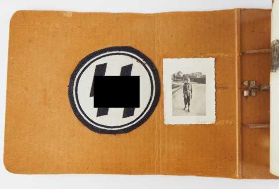 "Photo album of the 3. SS-Flak-Abteilung B ""upper salt mountain"". - photo 11"