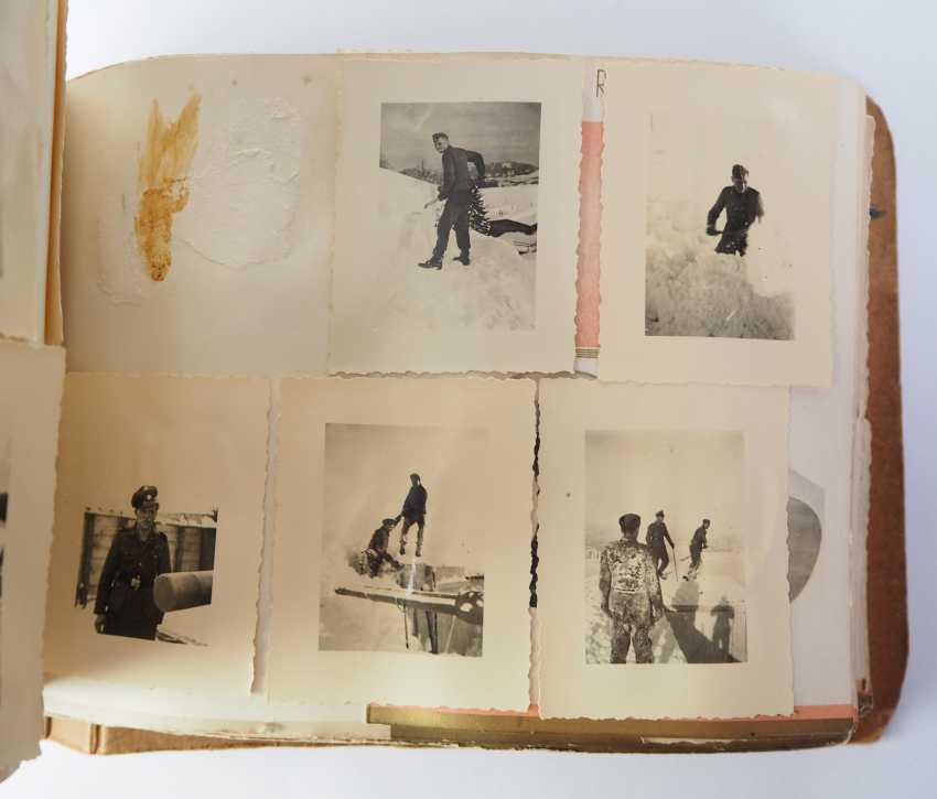 "Photo album of the 3. SS-Flak-Abteilung B ""upper salt mountain"". - photo 14"