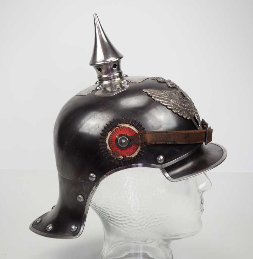 Prussia: helmet M1915 for teams of hunters to horse. - photo 3