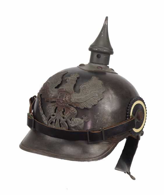 Prussia: field grey helmet for crews of the cuirassiers. - photo 1