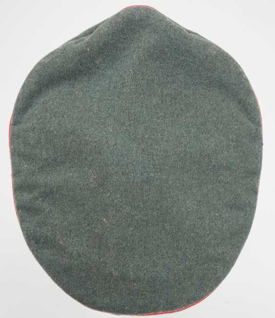 Waffen-SS: a visor cap for officers of the storm artillery. - photo 3