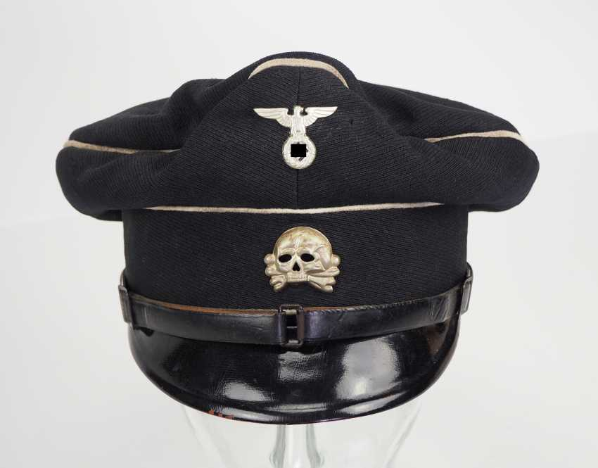 Allgemeine-SS Black visor cap for teams and leaders. - photo 2