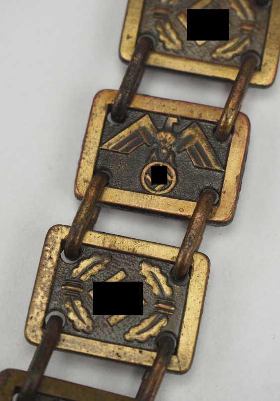 NSDAP: ring collar for flag bearers. - photo 5