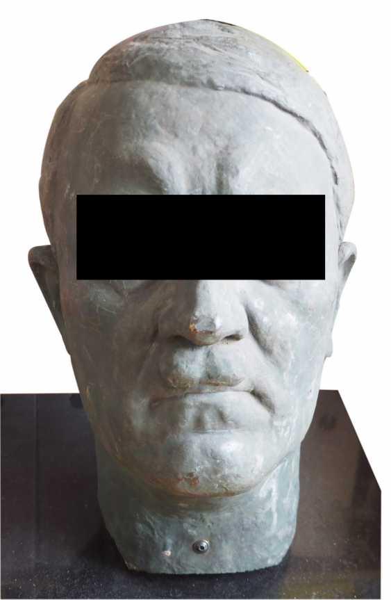 Adolf Hitler Bronze head Oversized, Olaf Lemke. - photo 1