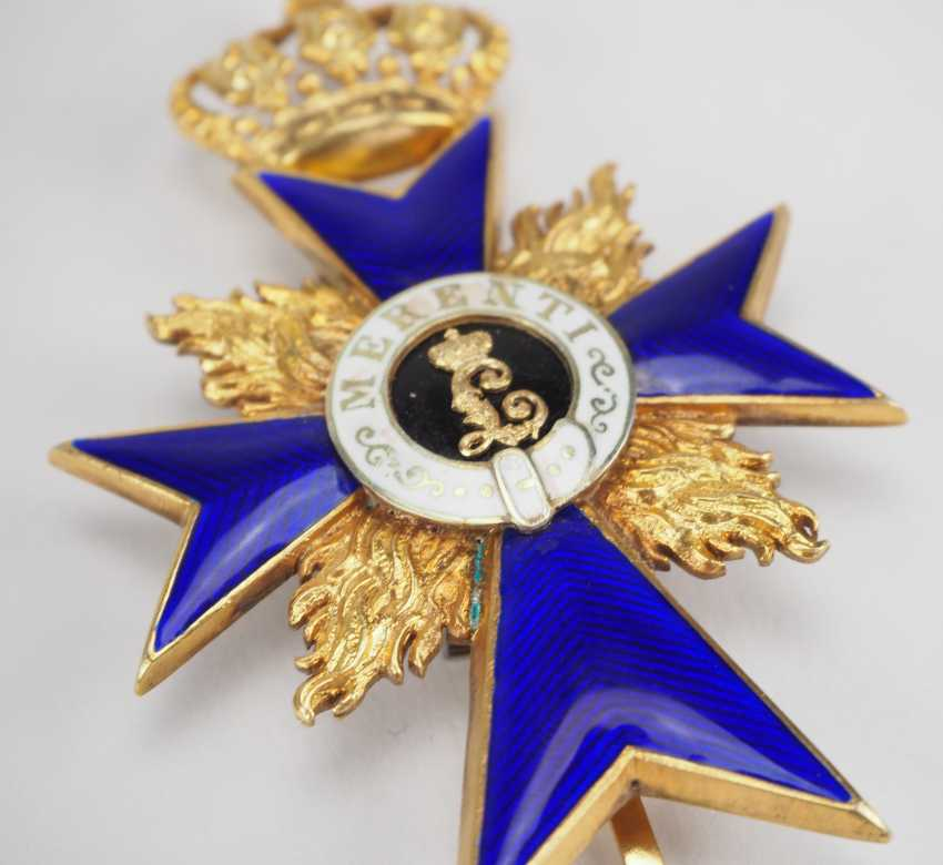Bavaria: military merit order, officer's cross, with flames (from 1905). - photo 2