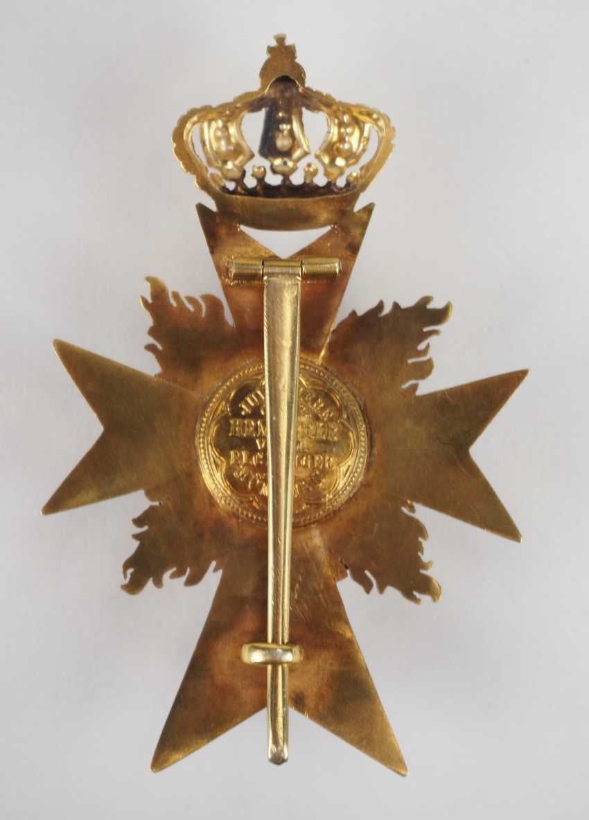 Bavaria: military merit order, officer's cross, with flames (from 1905). - photo 3