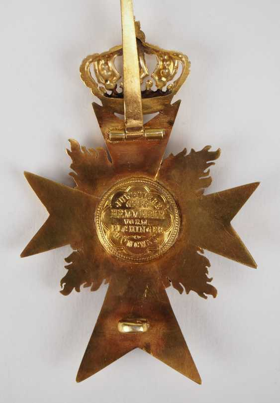 Bavaria: military merit order, officer's cross, with flames (from 1905). - photo 4