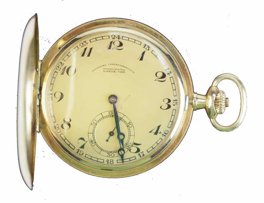 Pocket watch, German watch manufacture Glashütte SA - OLIW. - photo 1