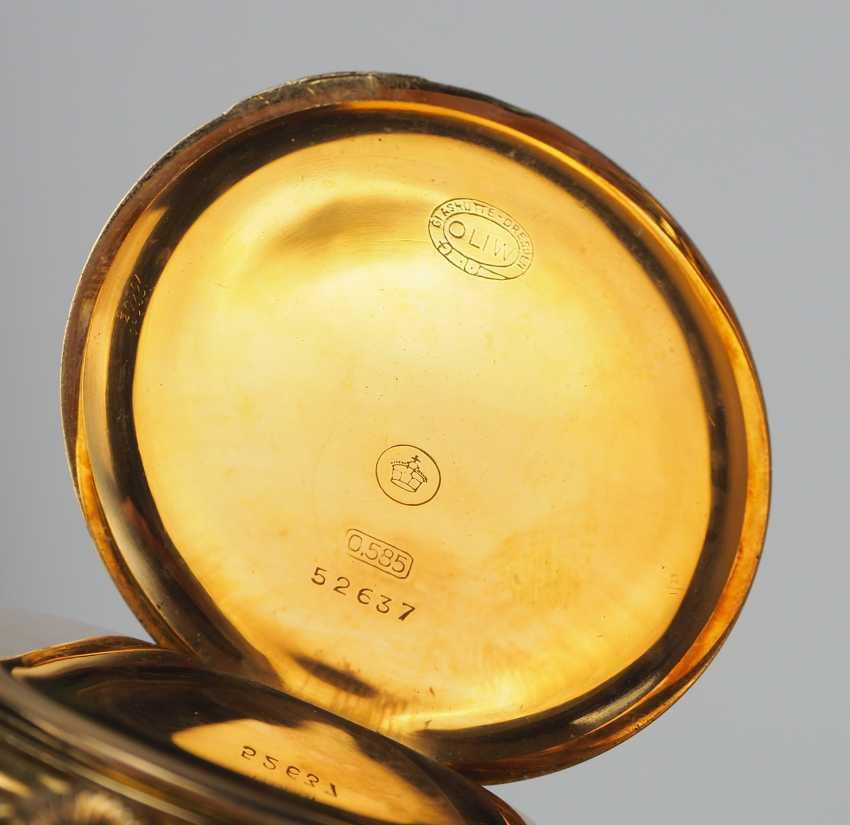 Pocket watch, German watch manufacture Glashütte SA - OLIW. - photo 3