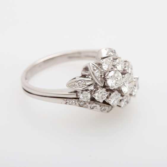 Ladies ring m. Diam occupied.-Brilliant - photo 2