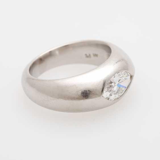 Bandring mit Diamant, - photo 2