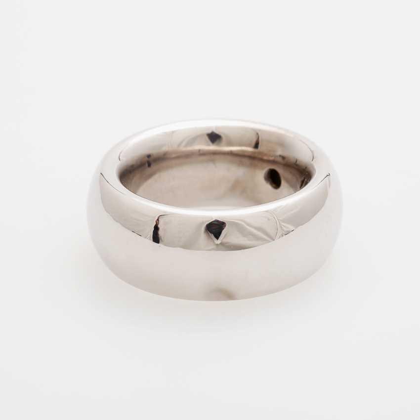 Ladies / men's ring m. occupied a diamond in Princesscut - photo 3
