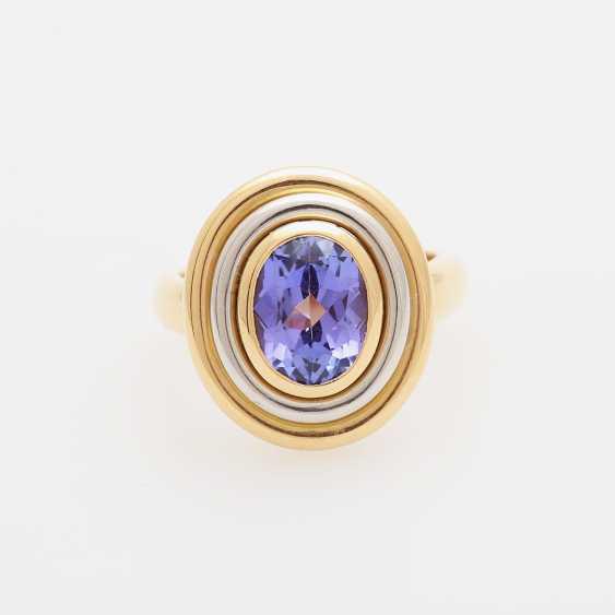 KURTZ Ring with tanzanite - photo 1