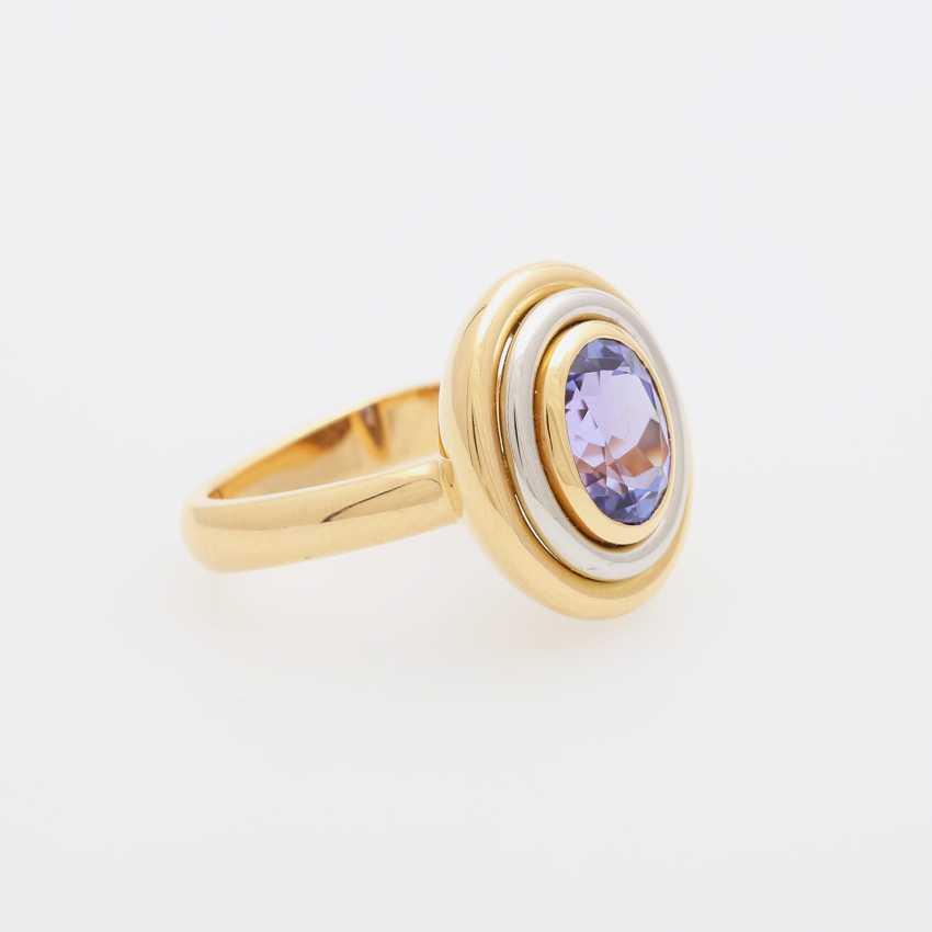KURTZ Ring with tanzanite - photo 2
